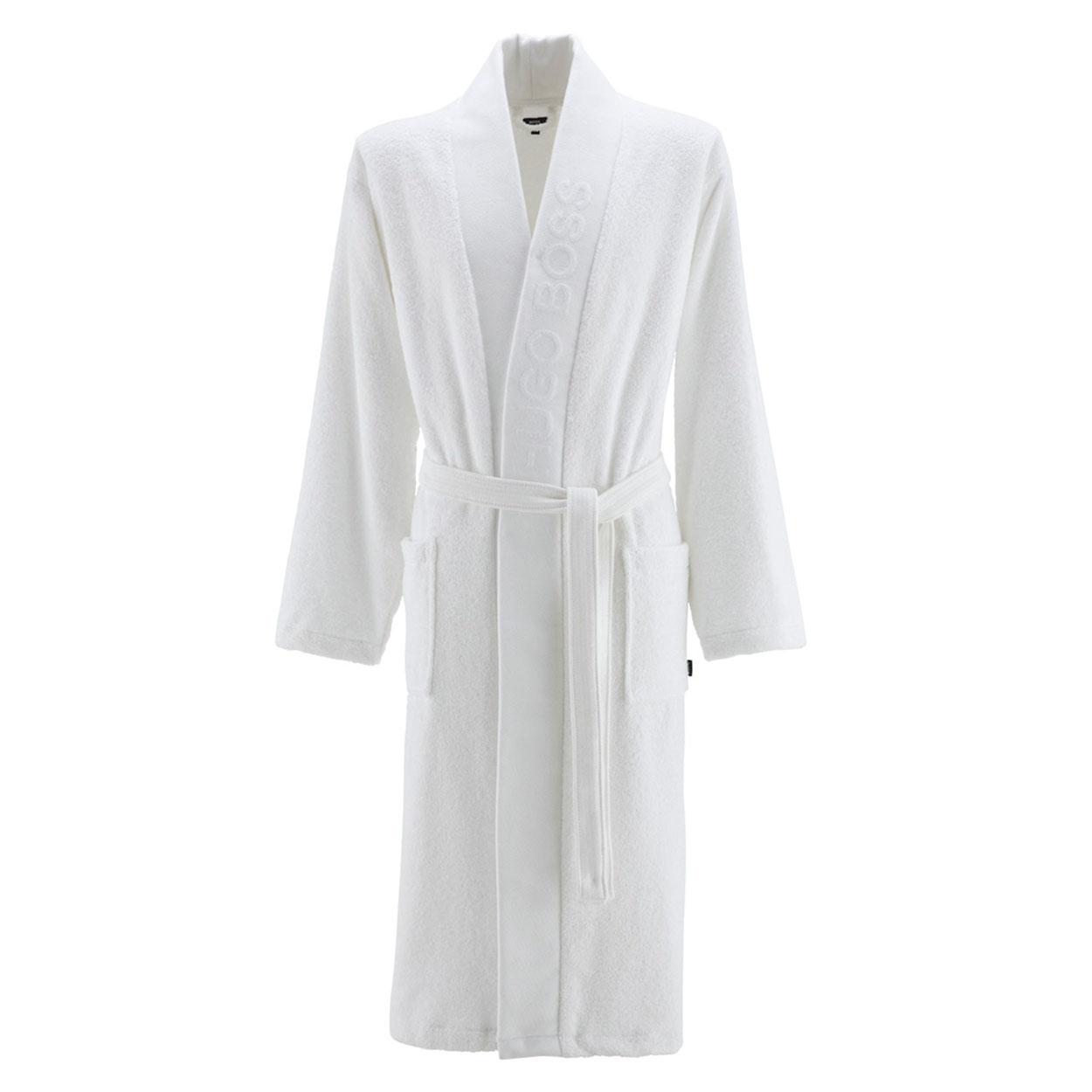 Kimono  plain en coton d\'egypte blanc