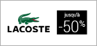 Soldes Lacoste homme