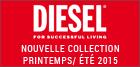 Nouvelle collection Diesel été 2015