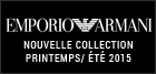 Nouvelle collection Emporio Armani été 2015