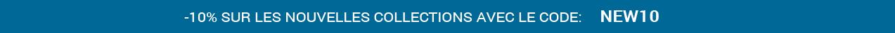 -10% nouvelles collections