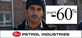 Soldes hiver 2020 Petrol Industries