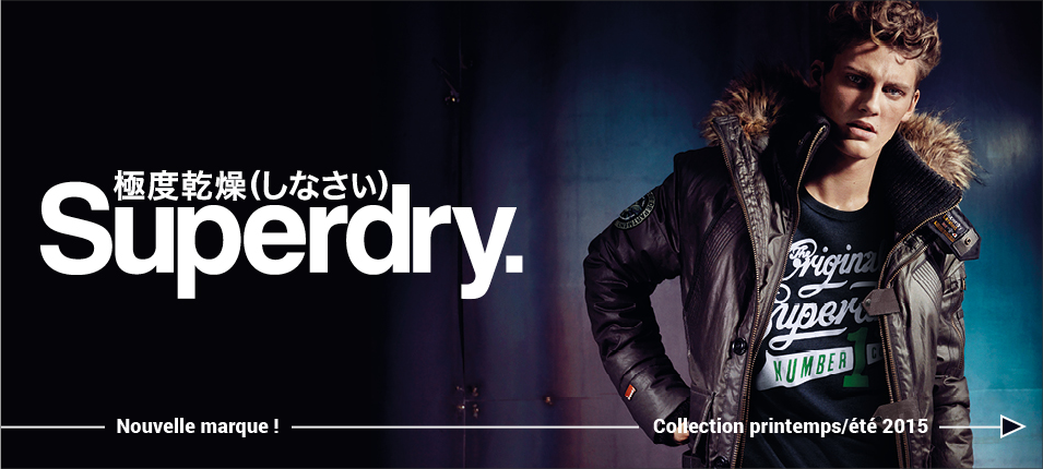vêtements Superdry