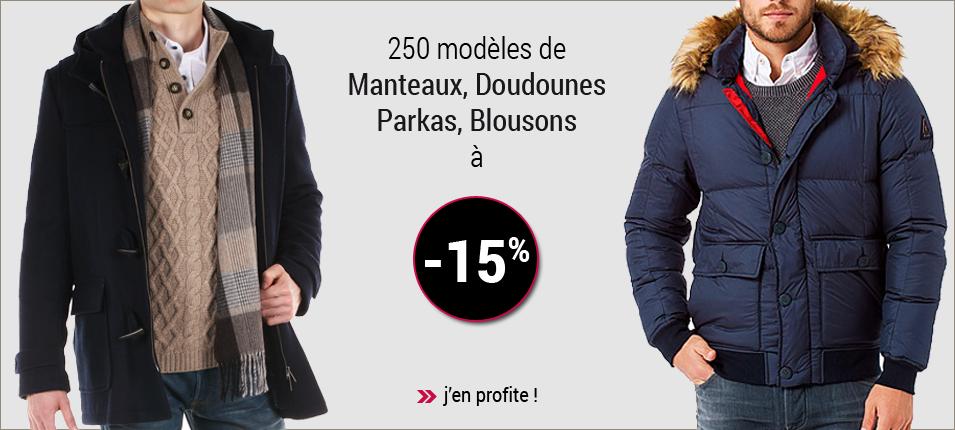 Manteaux pour homme