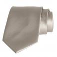Cravate unie Taupe