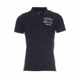Polo Caravel Clean Gaastra, 100% coton bleu marine