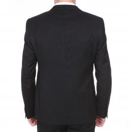 Costume cintré Chrom Men noir à doublure baroque