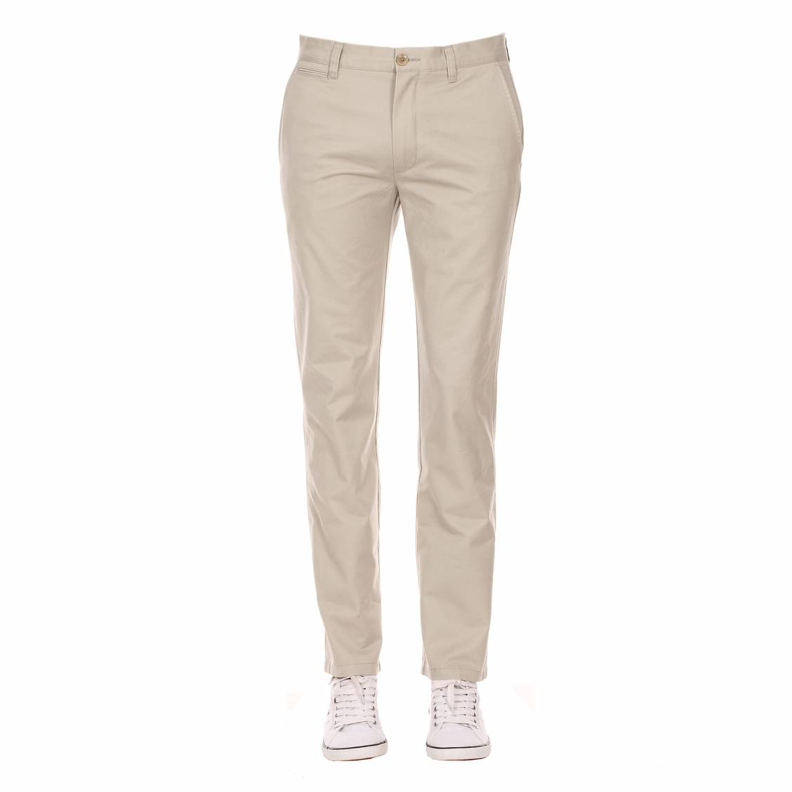 Pantalon chino Dockers beige clair coupe slim
