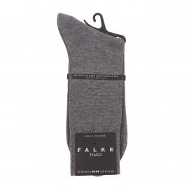 Chaussettes Tiago Falke en fil d'écosse gris