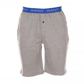 Bermuda d'intérieur Gant en coton gris chiné