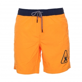 Short de bain Dolphin Beach Gaastra orange fluo
