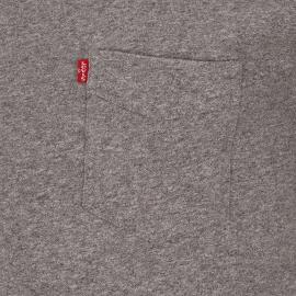 Tee-shirt One pocket tee Levi's en coton gris