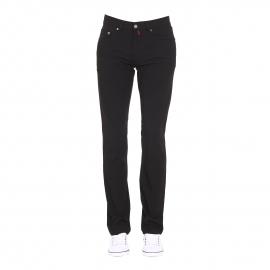 Pantalon Deauville Pierre Cardin thermo-reflective noir, coupe droite