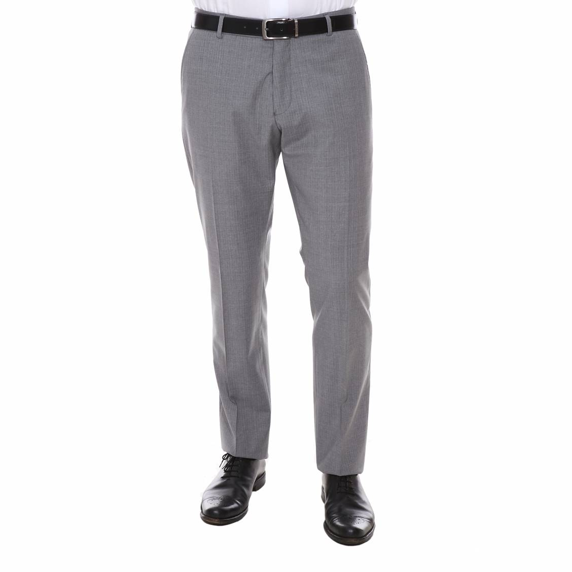 Pantalon de costume cintré selected one park en...