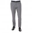 Pantalon de costume cintré Selected One Park en laine gris clair à fines rayures