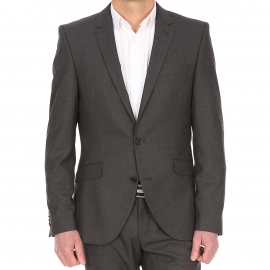 Veste de costume cintrée Selected One Shtax grise