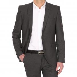 Veste de costume cintrée Selected One Shtax grise