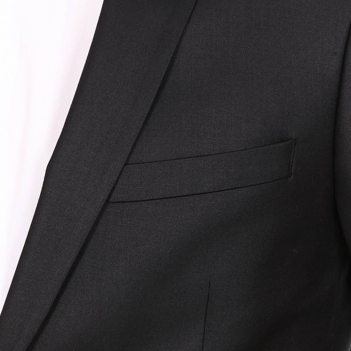 veste de costume cintrée Selected Logan noire