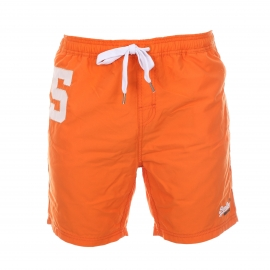 Short de bain Superdry Premium Water Polo orange