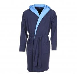 Robe de Chambre à capuche Conan Tommy Hilfiger en coton bleu marine