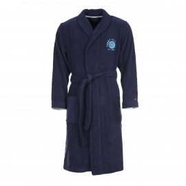 Peignoir de bain Dixon Tommy Hilfiger en coton bleu marine