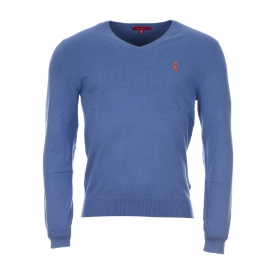 Pull col V Pull homme Vicomte A