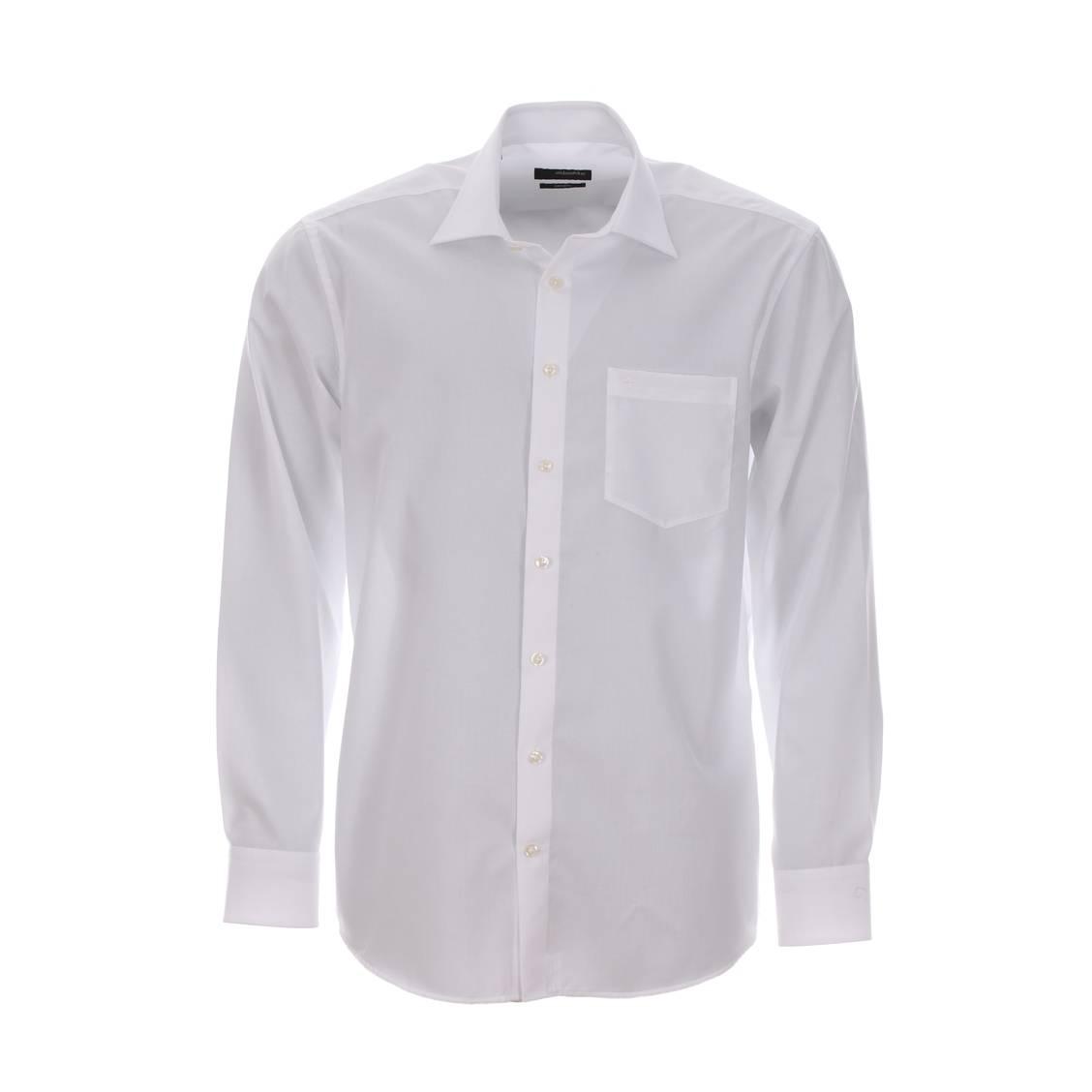Chemise blanche Seidensticker sans repassage