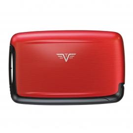 Porte-cartes Pearl Tru Virtu rouge