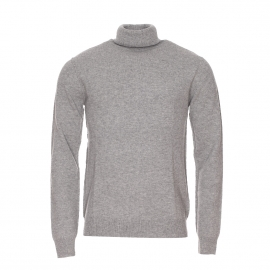 Pull Apyroad American Vintage en laine gris clair chiné