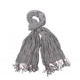 Echarpe Antony Morato à carreaux noirs, blancs et rouges
