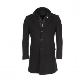 Manteau Antony Morato noir à gilet amovible matelassé