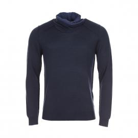 Pull Antony Morato en laine bleu marine à col boule