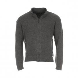 Gilet Kerlouan zippé Armor Lux 100% laine anthracite