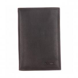 Portefeuille Azzaro en cuir noir 10 inserts à cartes