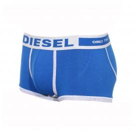 Boxer Diesel Hero en coton modal bleu et gris clair