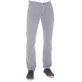 Pantalon ajusté Alpha washed Khaki Dockers en coton gris
