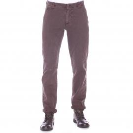 Pantalon ajusté Alpha washed Khaki Dockers en coton marron