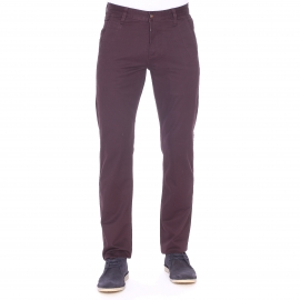 Pantalon chino Dockers en coton prune