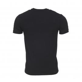 Tee-shirt col V Dolce & Gabbana en coton stretch noir