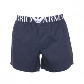 Caleçon Emporio Armani en coton bleu marine