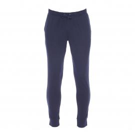 Pantalon de jogging Emporio Armani en coton bleu marine