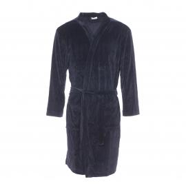 Robe de chambre Eminence en velours noir