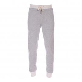 Pantalon de jogging Guess en coton gris clair chiné