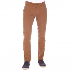 Pantalon chino slim Bolton Dean Jack & Jones camel