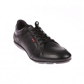 Baskets basses Levi's en cuir noir