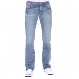 Jean Levi's 527 Low Boot Cut Fine Tuned bleu clair