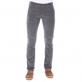 Pantalon Levi's 511 Slim Fit Eiffel Tower Pigment Cord en velours gris