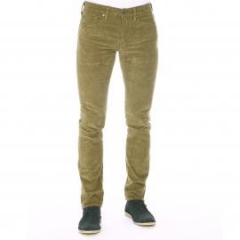 Pantalon Levi's 511 slim en velours kaki