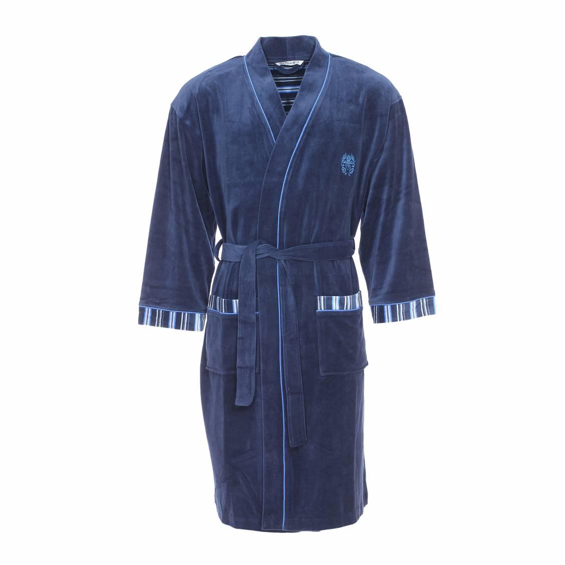 Robe de chambre homme   peignoir velour   robe de chambre homme ...
