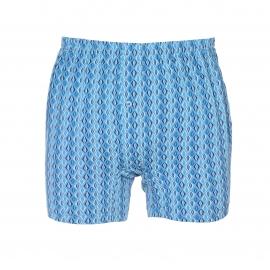 Caleçon Mariner bleu clair à motifs bleus
